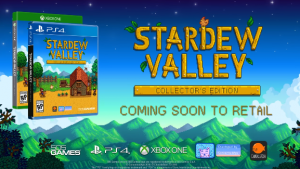 Stardew Valley Gets Retail Version on PlayStation 4 and Xbox One