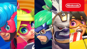 New Trailers for Arms Show Off Character Roster, Weapons