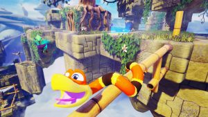 Snake Pass Launches in Late March 2017 for PC, Xbox One, PS4, and Switch