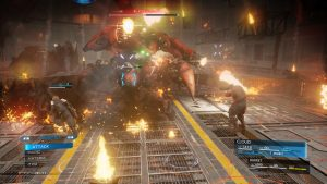 Battles in the Final Fantasy VII Remake Are Action-Based With Cover Options