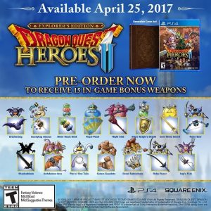 Dragon Quest Heroes II Gets Simultaneous PC Release, Explorer's Edition Revealed