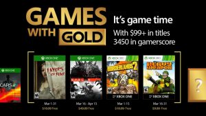 March 2017 Games With Gold Include Evolve, Borderlands 2, More
