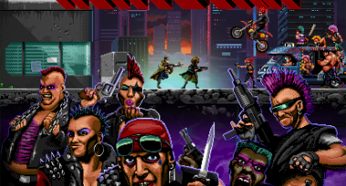 Coffee Stain Enters Publishing, First Game is 80's-Inspired Dystopian Cop-Action Game Huntdown