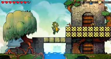 Wonder Boy: The Dragon's Trap Lets You Switch Between Modern and Classic 8-bit Visuals