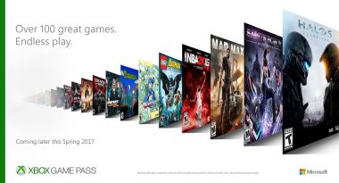 Xbox Game Pass Subscription Announced, Includes Xbox One and Xbox 360 Games