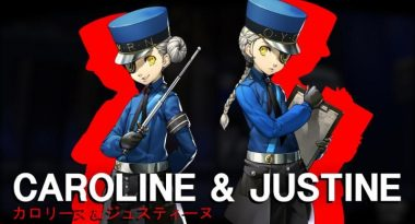 New Persona 5 Trailer Introduces Caroline and Justine