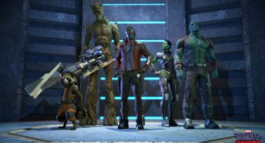 First Look at Telltale's Guardians of the Galaxy Game