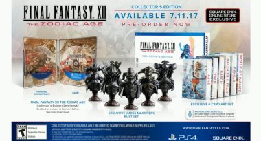 Final Fantasy XII: The Zodiac Age Limited and Collector's Editions Announced