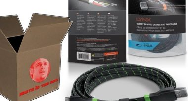 What's in the Box? – Bionik LYNX Flat Gaming Cables