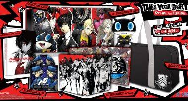 Watch Atlus Unbox the Persona 5 Take Your Heart Edition