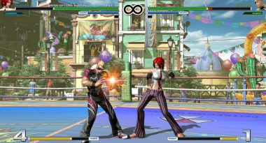 New King of Fighters XIV Gameplay has Vanessa Fighting Ramon