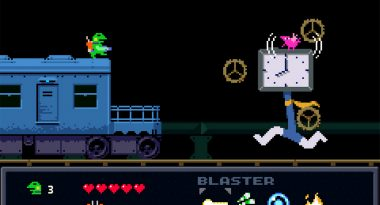 Kero Blaster Launches for PlayStation 4 on April 11