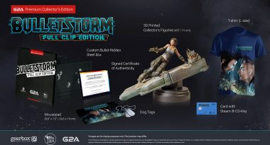 Bullet-Filled Bulletstorm: Full Clip Edition Collector's Edition Announced via G2A