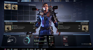 New Trailer for Sci-fi ARPG The Surge Focuses on Loot and Gear