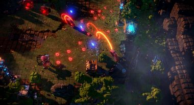 New Details and Gameplay for Nex Machina Outline Replay Mode, Challenges, More