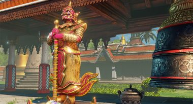 Thailand Stage, New School Costumes Releasing for Street Fighter V on April 25
