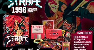 Throwback Gore-Overload FPS STRAFE Gets Retro and Awesome Limited Editions