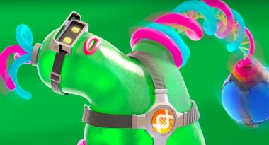 """New Arms Character """"Helix"""" is a Green Monstrosity"""