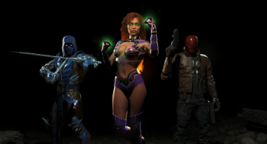 First Injustice 2 DLC Includes Sub-Zero, Starfire, and Red Hood
