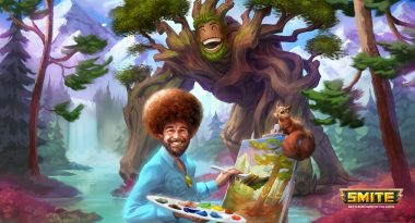 Smite Joins the Meme-War by Adding Bob Ross