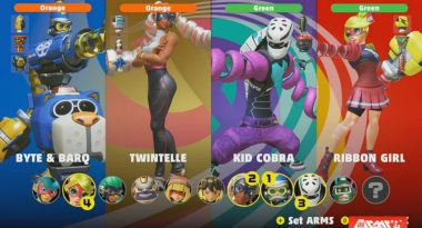 New Characters Twintelle, Byte & Barq, and Kid Cobra Revealed for Arms