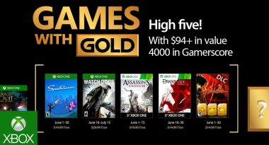 June 2017 Games with Gold Include Watch Dogs, Dragon Age: Origins, More