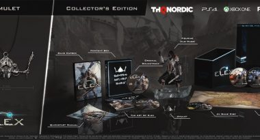 Sci-fi Action RPG Elex Launches October 17 – Collector's Edition Revealed
