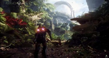 First Gameplay for Anthem Shows Mechs, Co-Op