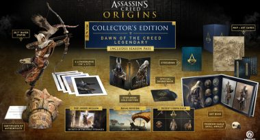 New Assassin's Creed Origins Trailer, $800 Collector's Edition Revealed