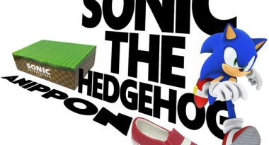 Sega Reveals Official Sonic the Hedgehog Shoes for Series Anniversary