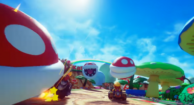 Mario Kart VR Looks Absolutely Ridiculous