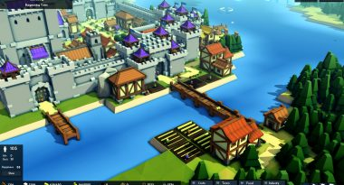 Niche Spotlight – Kingdoms and Castles: Voxel-Based City and Fortress Building Sim