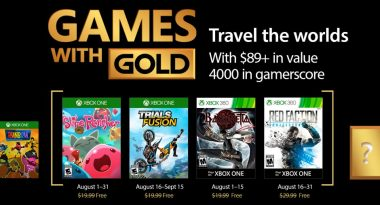 August 2017 Games With Gold Include Slime Rancher, Bayonetta, More