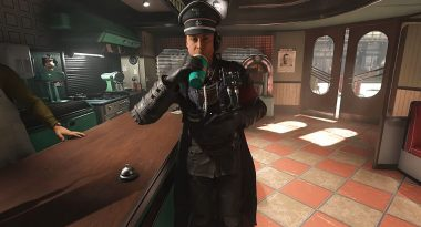New Wolfenstein II: The New Colossus Gameplay has Nazis and Milkshakes