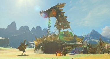 New Update for The Legend of Zelda: Breath of the Wild on Switch Adds In-Game News Channel