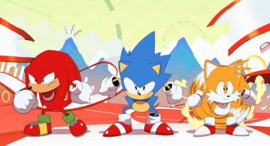 Opening Animation for Sonic Mania