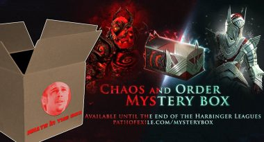 What's in the Box? – Path of Exile Chaos and Order Mystery Box Unboxing