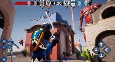 Día de Muertos-Themed 4v4 Multiplayer Shooter Morphies Law Announced for PC, Switch