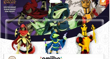 Shovel Knight Treasure Trove Amiibo 3 Pack Announced
