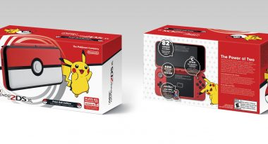 Poke Ball-Themed New Nintendo 2DS XL Announced