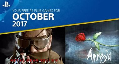 PlayStation Plus Free Games for October 2017 Include Metal Gear Solid V: The Phantom Pain, More