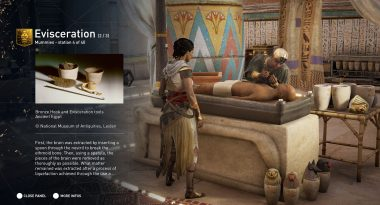 New Combat-Free Educational Mode for Assassin's Creed: Origins Revealed