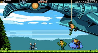 Battletoads Content Now Available for Shovel Knight on PC