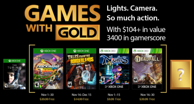 Games With Gold for November 2017 Includes NiGHTS Into Dreams, Tales from the Borderlands, More