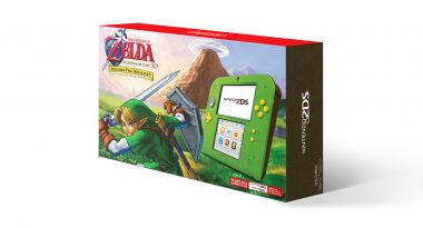 Link Green 2DS Bundle with The Legend of Zelda: Ocarina of Time 3D Launches Black Friday 2017