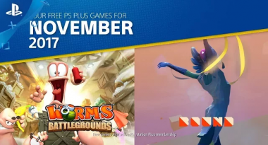 PlayStation Plus for November 2017 Includes Worms Battlegrounds, Bound, More