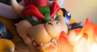 Massive, Overwhelming, and Thick $700 Bowser Statue Announced