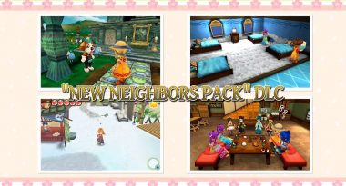 "Story of Seasons: Trio of Towns ""New Neighbors Pack"" DLC Now Available"