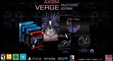 "Axiom Verge ""Multiverse Edition"" Retail Version Launches November 21 in North America, January 2018 for Europe"