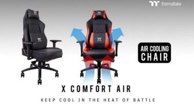 First Air-Cooled Gaming Chair Helps You Fight Swamp Ass